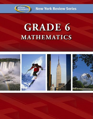 9780078885471: New York Review Series, Grade 6 Mathematics Review Workbook (Glencoe Mathematics)