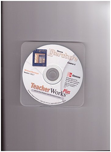 9780078885624: Glencoe Literature Teacher Works Plus Course 4