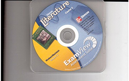 9780078885907: Glencoe Literature Course 3 ExamView Assessment Suite CD-ROM