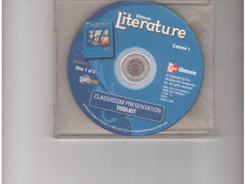 9780078885969: Course 1 Glencoe Literature Classroom Presentation Toolkit 2 Cd-roms
