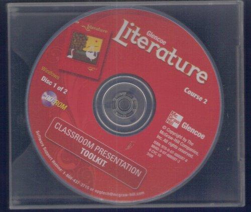 9780078885976: Glencoe Literature, Grade 7, Course 2 Classroom Presentation Toolkit CD-ROM