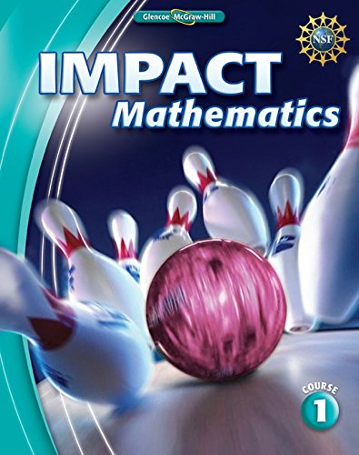 9780078887031: IMPACT Mathematics, Course 1, Student Edition
