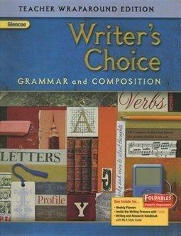 9780078887673: Writer's Choice Grammar and Composition Teacher Wraparound Edition (Grade 6)
