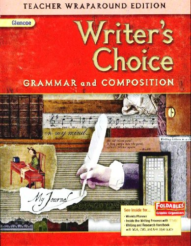 9780078887697: Writer's Choice Grammar and Composition Teacher Wraparound Edition (Grade 7)