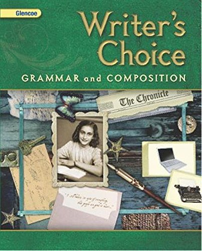 9780078887703: Writer's Choice: Grammar and Composition Grade 8