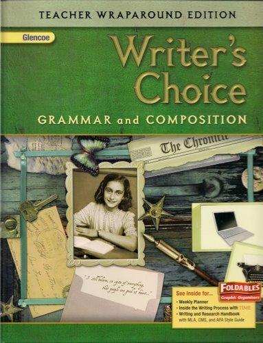 9780078887710: Writer's Choice Grammar and Compostion Teacher Wraparound Edition (Grade 8)