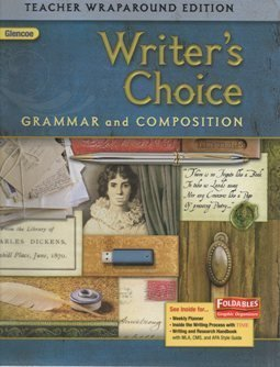 9780078887772: 2009 Glencoe Writer's Choice Grammar and Composition, Teacher Wraparound Edition