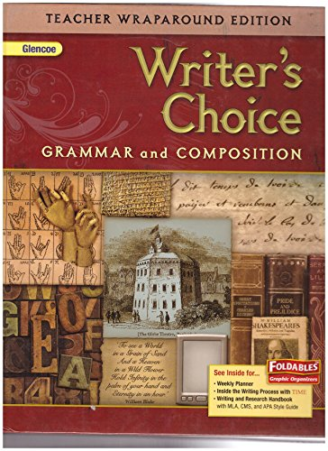 9780078887796: TWE: Glencoe Writer's Choice: Grammar and Composition (Grade 12)