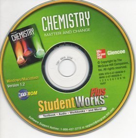 9780078888366: Glencoe Chemistry Matter and Change Student Edition on CD ROM
