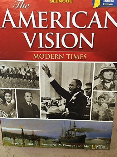 9780078889462: The American Vision: Modern Times