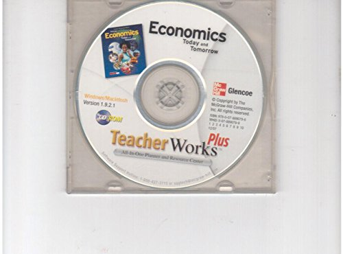 9780078890796: TeacherWorks Plus CD-ROM (Economics Today and Tomorrow)