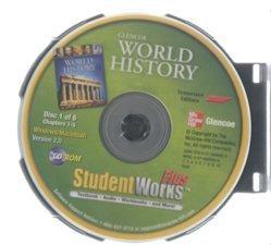 9780078890925: 2010 Glencoe World History Tennessee Student Works Plus CD ROM
