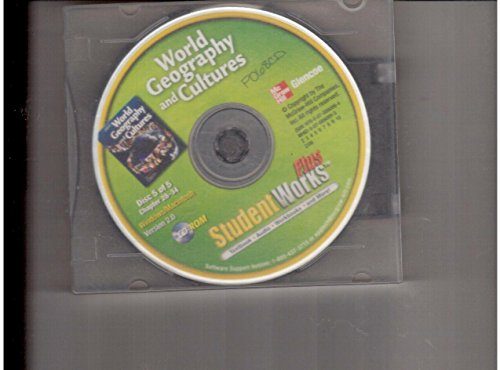 9780078890994: World Geography and Cultures, StudentWorks Plus CD-ROM
