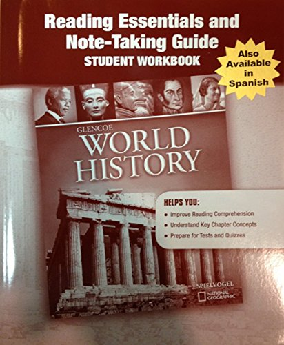 9780078891311: Glencoe World History, Reading Essentials and Note-Taking Guide