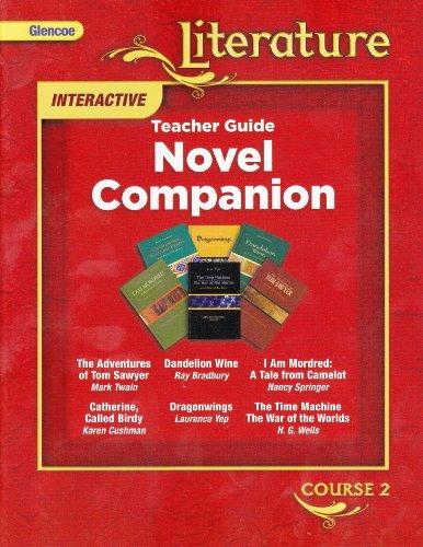 9780078891595: Glencoe Literature Interactive Teacher Guide: Novel Companion (Course 2) [2008]