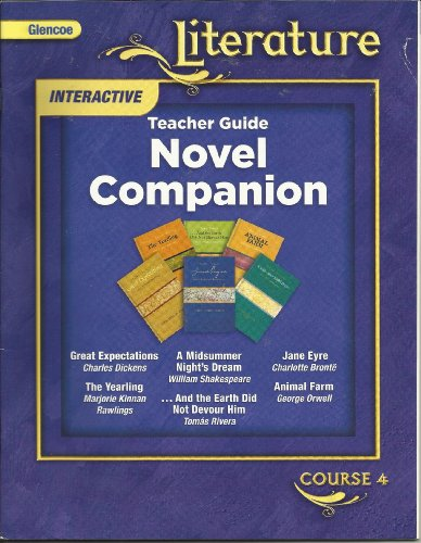Glencoe Literature Course 4 Teacher Guide, Novel Companion Great Expectations, A Midsummer Night&#...