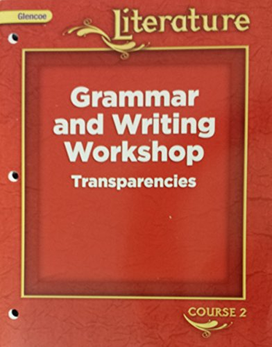 9780078892219: Grammar and Writing Workshop Transparencies (Glencoe Florida Treasures Literature course 2)