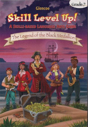 9780078892721: Skill Level Up! A Skills Based Language Arts Game CD-ROM Grade 7 (The Legend of the Black Medallion)