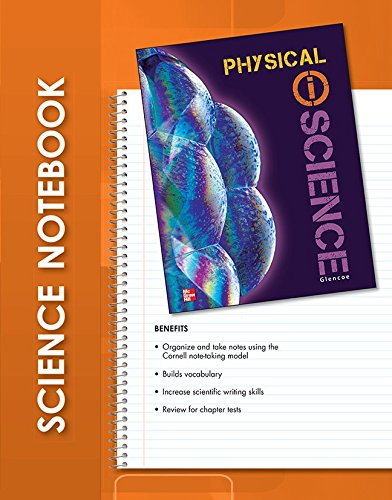 9780078894299: Glencoe Physical iScience, Grade 8, iScience Notebook, Student Edition (GLEN SCI: INTRO PHYSICAL SCI)