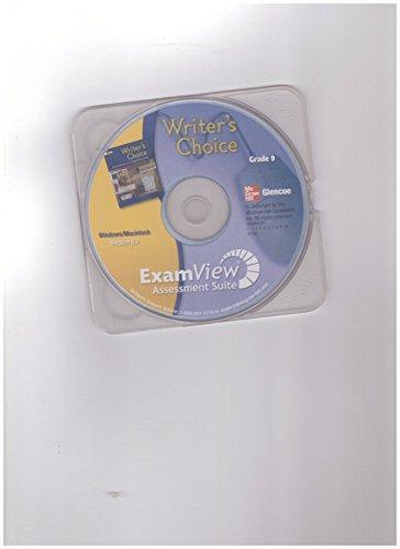 9780078894992: ExamView Assessment Suite (Glencoe Writer's Choice, Grade 9)