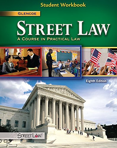 Street Law: A Course in Practical Law, Student Workbook (NTC: STREET LAW) (9780078895180) by McGraw-Hill