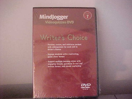 9780078898389: Writer's Choice, Grade 7: MindJogger Videoquizzes DVD/DVD-ROM