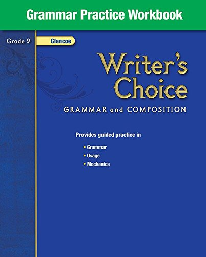 9780078899485: Writer's Choice Grade 9: Grammar Practice Workbook