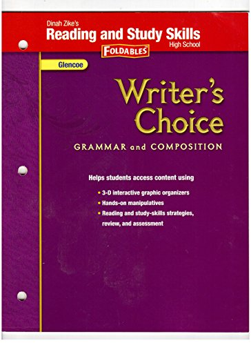 9780078899621: Writer's Choice, Grammar and Composition, High School: Dinah Zike's Reading and Study Skills Foldabl