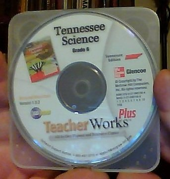 9780078901584: Glencoe Tennessee Science Grade 6 TeacherWorks Plus All-In-One Planner and Resource Center Version 1.9.3 Windows/Macintosh