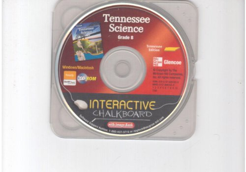9780078901638: Interactive Chalkboard CD-ROM Tennessee Grade 8 (Glencoe Science)