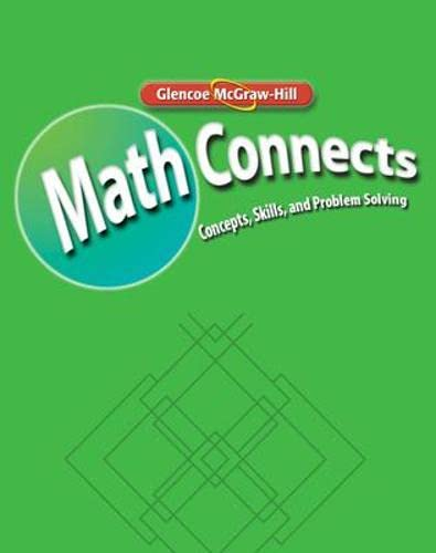9780078902383: Math Connects: Concepts, Skills, and Problems Solving, Course 3, Noteables: Interactive Study Notebook with Foldables (Math Connects: Course 3)