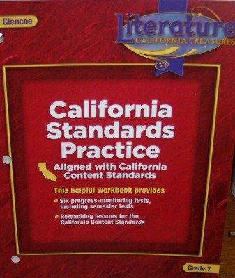 9780078903175: California Standards Practice Grade 7 (Literature: California Treasures)