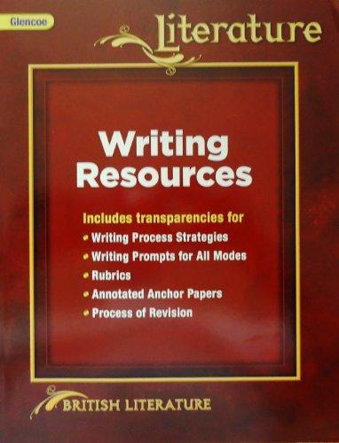 9780078903649: Glencoe Literature British Literature Writing Resources