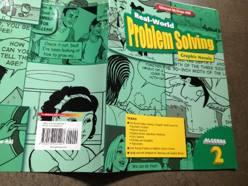 9780078905407: Real-World Problem Solving Graphic Novels Algebra 2