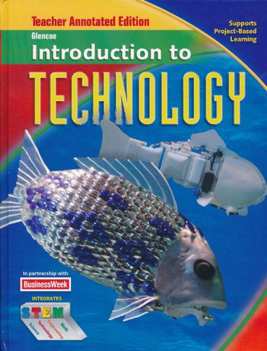 9780078907111: Glencoe Introduction to Technology, Teacher Annotated Edition.
