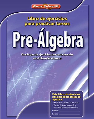 9780078907449: Pre-Algebra, Spanish Homework Practice Workbook (MERRILL PRE-ALGEBRA)
