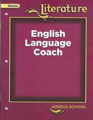 9780078907845: Glencoe Literature English Language Coach (Middle School) [2008]