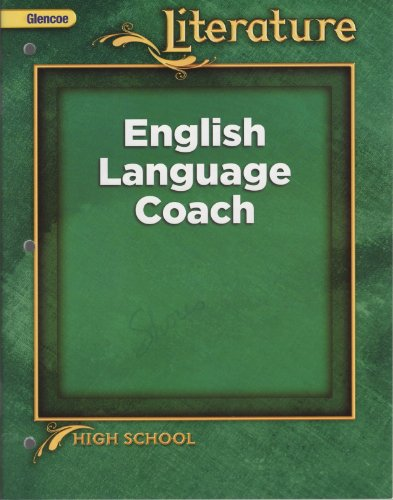 9780078907852: Literature - English Language Coach (High School)