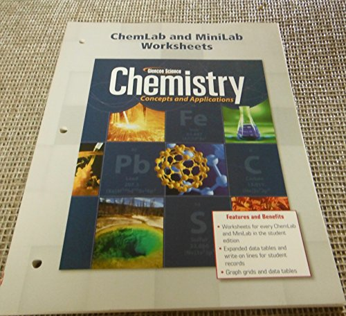9780078908071: ChemLab and MiniLab Worksheets