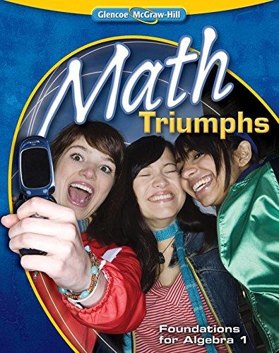 9780078908460: Math Triumphs--Foundations for Algebra 1 (MERRILL ALGEBRA 2)