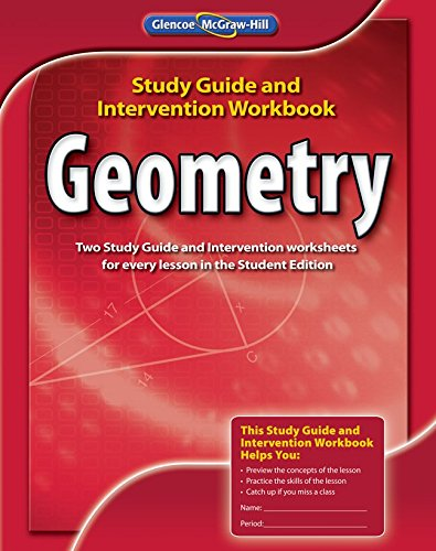9780078908484: Geometry, Study Guide and Intervention Workbook