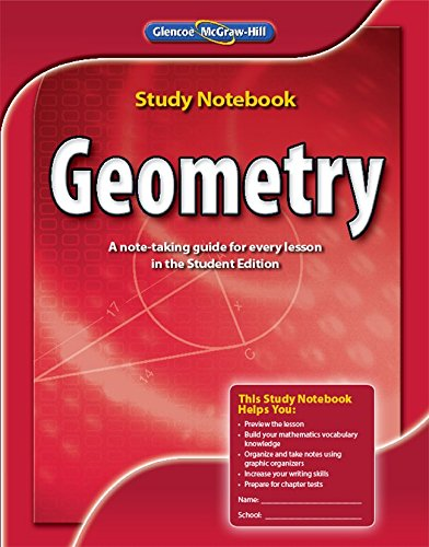 9780078908576: Geometry, Study Notebook (MERRILL GEOMETRY)