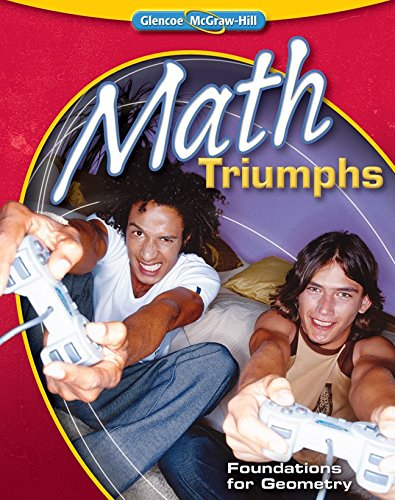 9780078908590: Math Triumphs--Foundations for Geometry (MERRILL GEOMETRY)