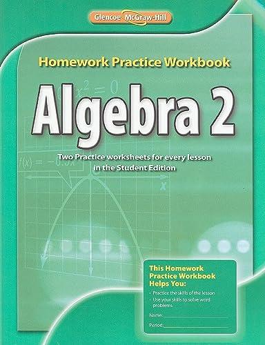 9780078908620: Algebra 2 Homework Practice Workbook
