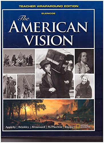 9780078909399: The American Vision Teacher Edition