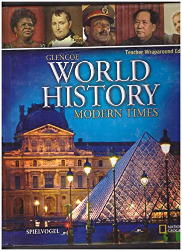 9780078910050: Glencoe World History: Modern Times Teacher Wraparound Edition