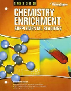 9780078912290: 2008 Glencoe Chemistry Enrichment Supplemental Readings