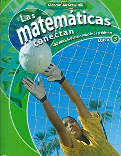 9780078913075: Las Mathematicas Conectan, Curso 3