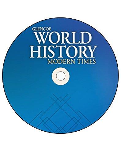 9780078914140: Glencoe World History: Modern Times, StudentWorks Plus CD-ROM