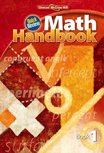 9780078915048: Quick Review Math Handbook, Book 1, Student Edition